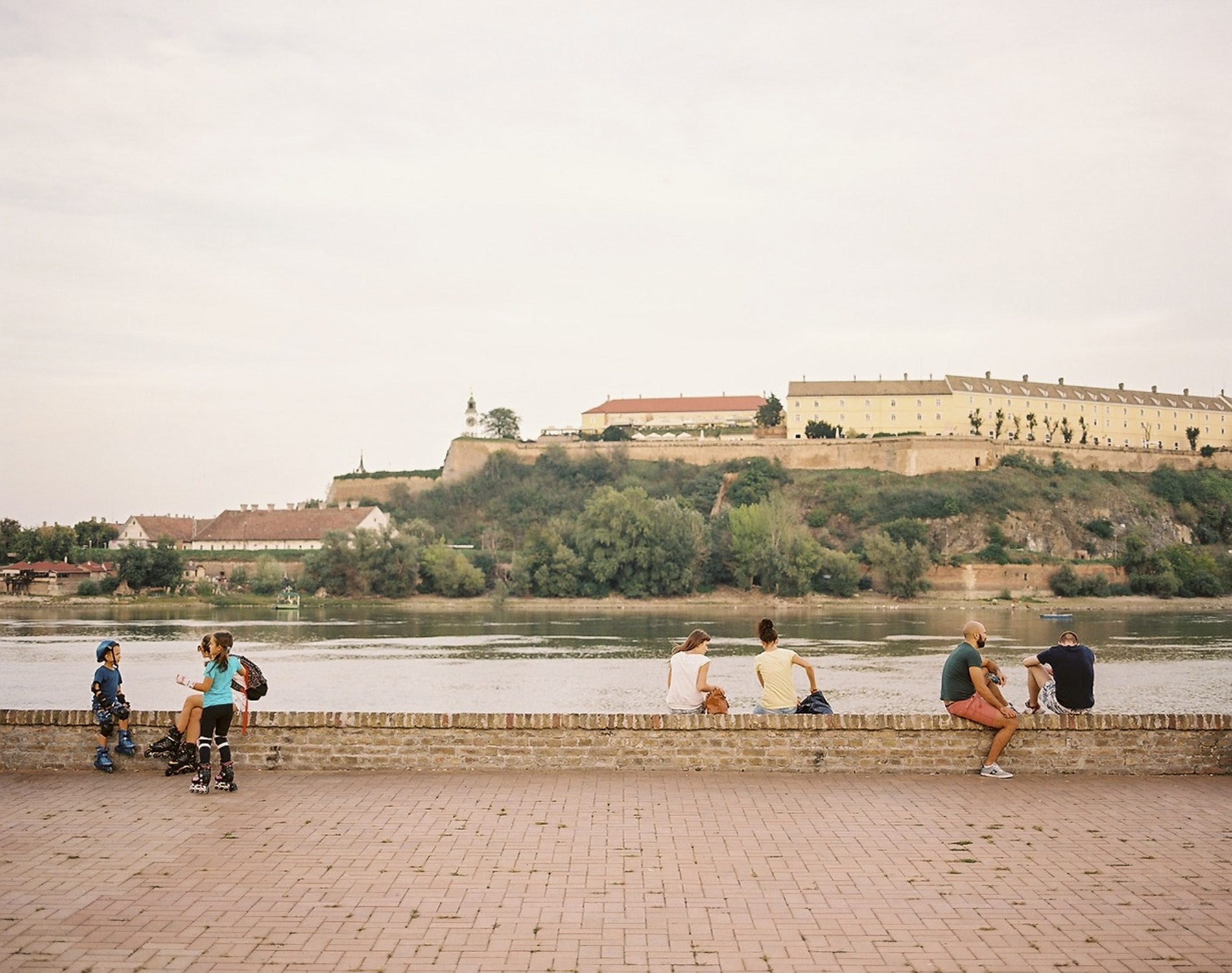 The view along the Danube River