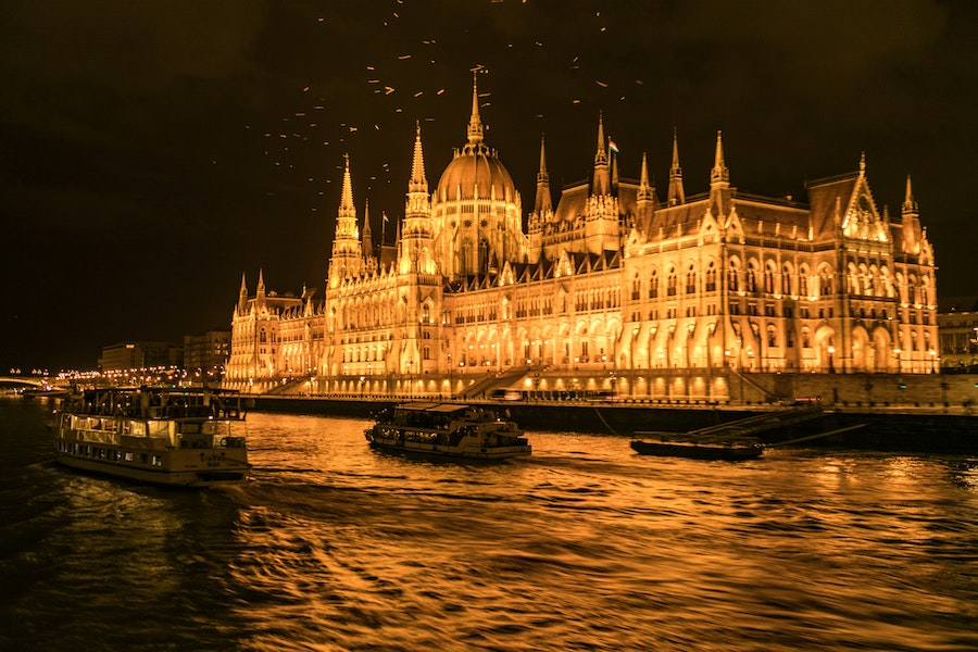 It may be touristy, but a night cruise in Budapest is not to be missed.