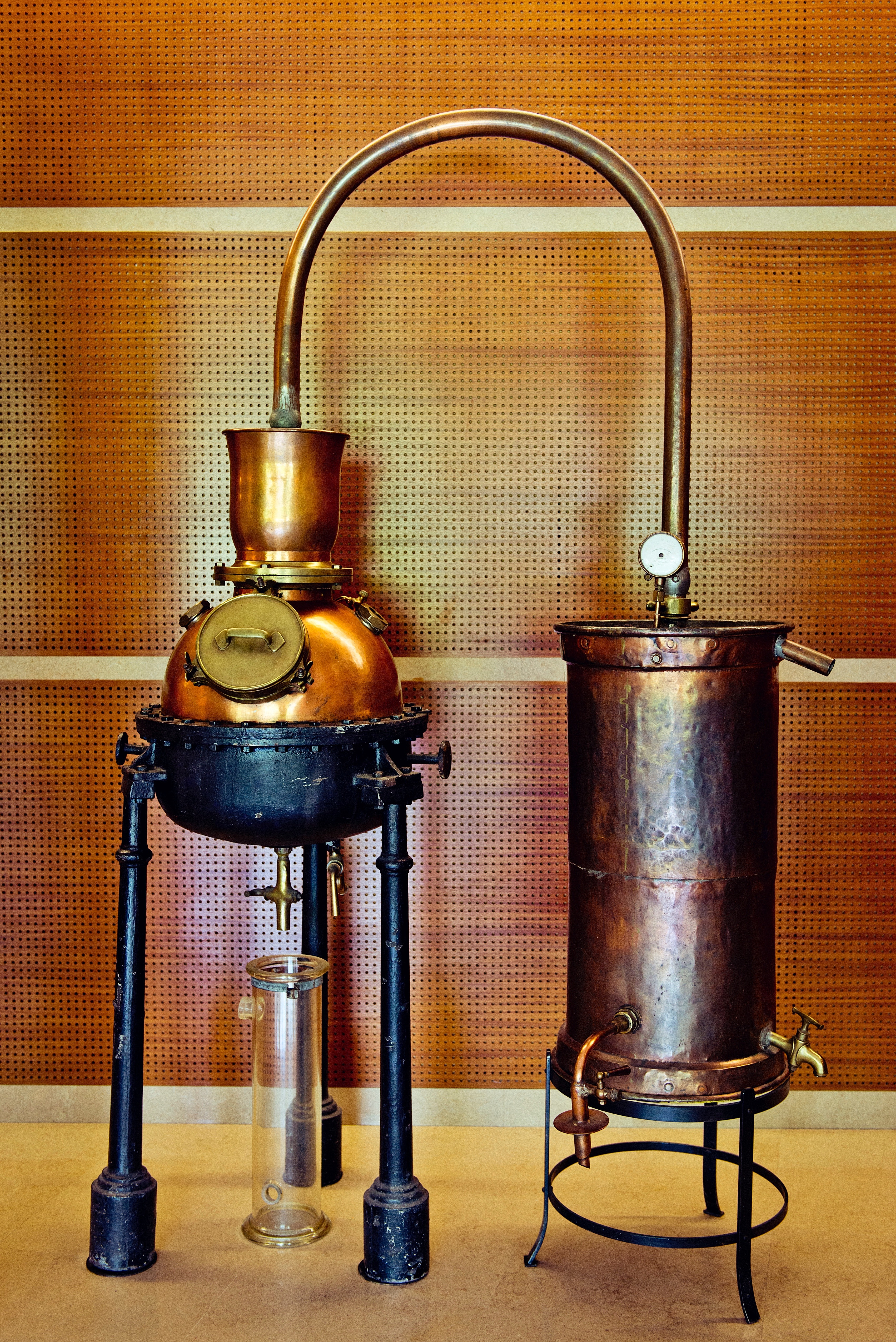 The chemisty of perfume making in Grasse has grown more complex since perfumers first used the copper distilling equipment at Robertet in the late 19th century.