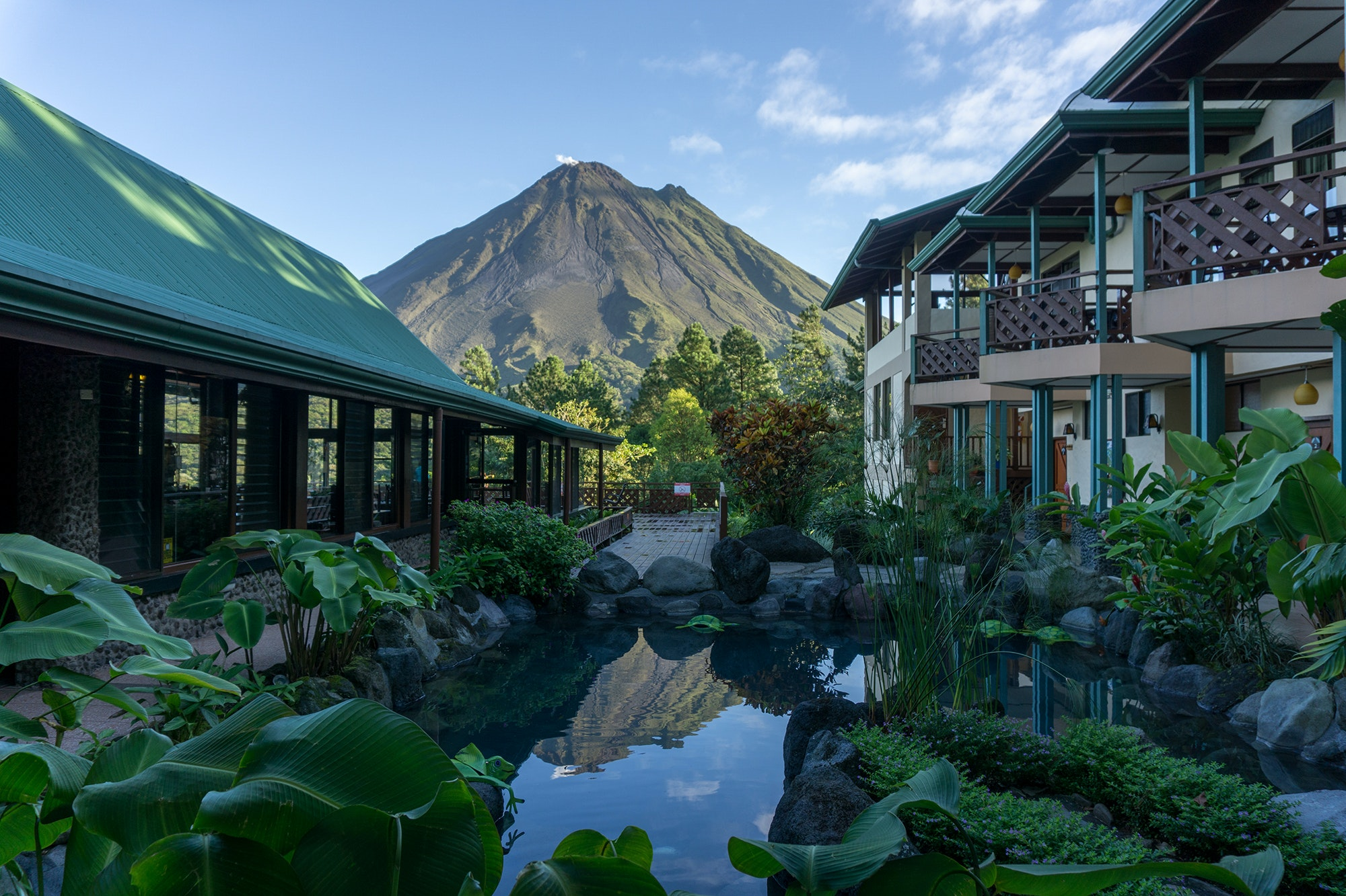 Costa Rica's network of private reserves, which includes Arenal Observatory Lodge & Spa, helps connect and expand the country's natural spaces.