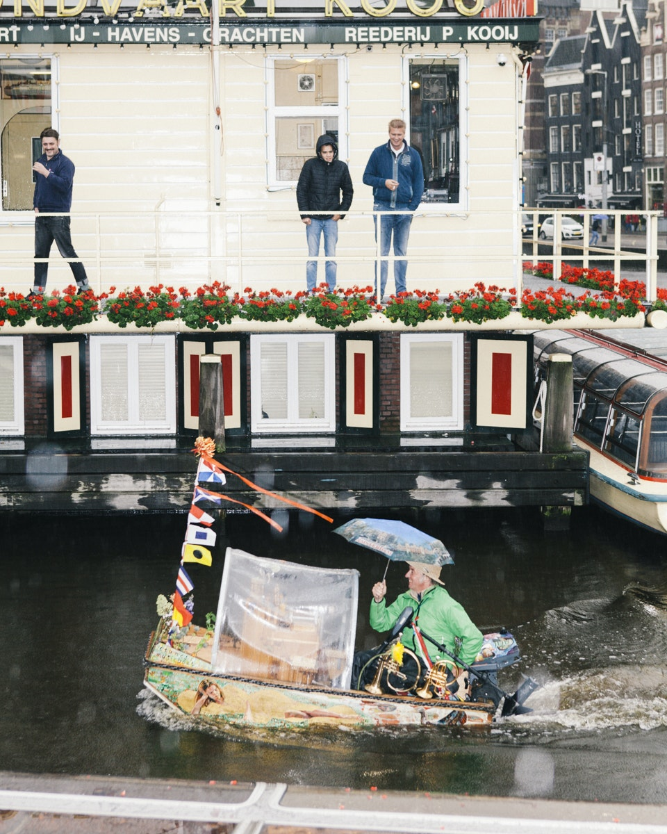 One of the most popular ways to explore Amsterdam is by touring its ring of 165 canals.
