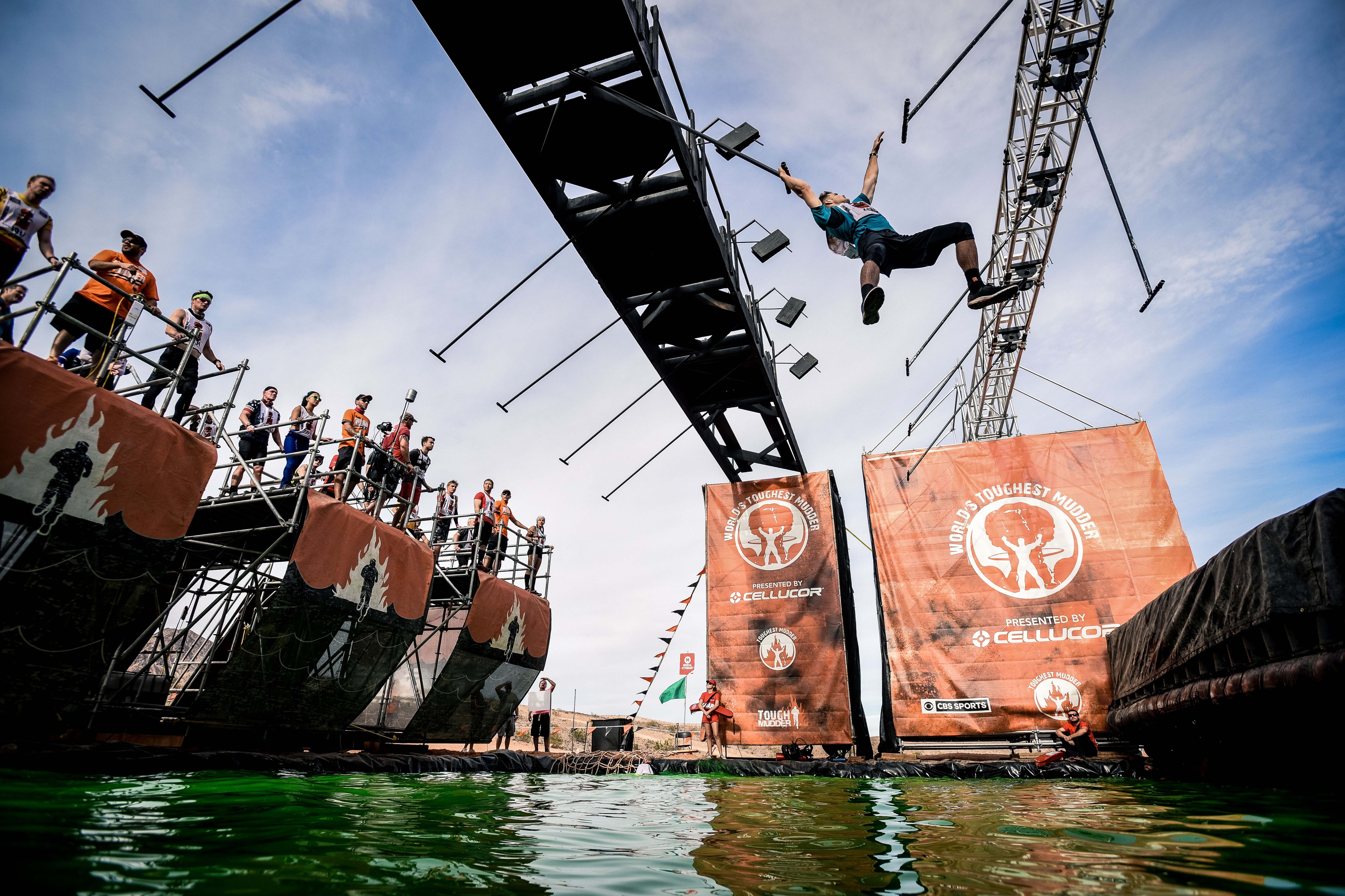 The 10- to 12-mile military-style obstacle course is meant to push the limits of its participants, testing strength, agility, endurance, and mental grit.