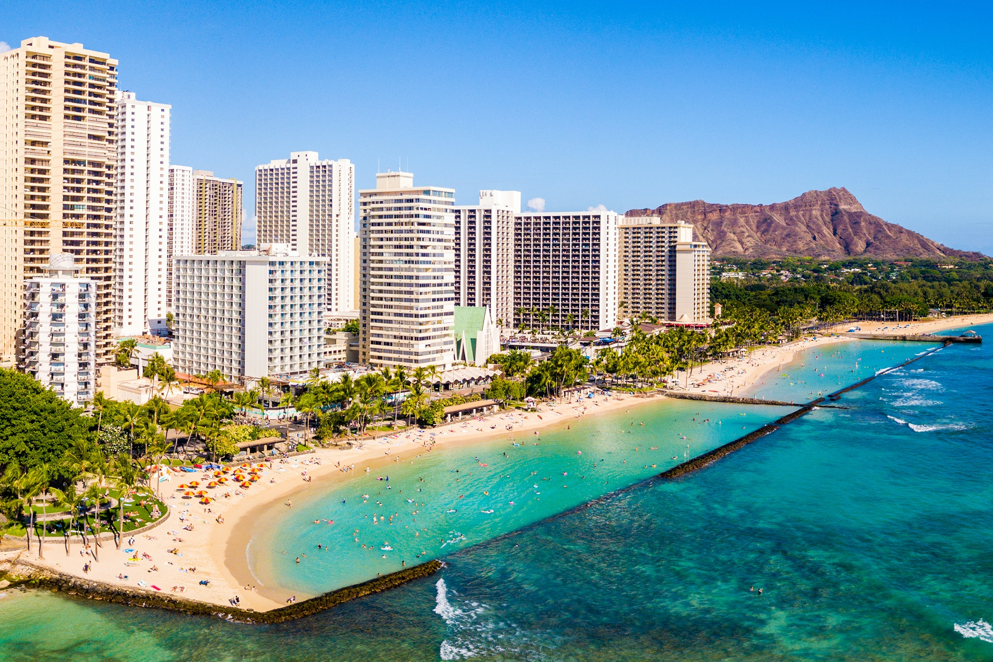 Many of Waikiki's beach hotels are going through major renovations.