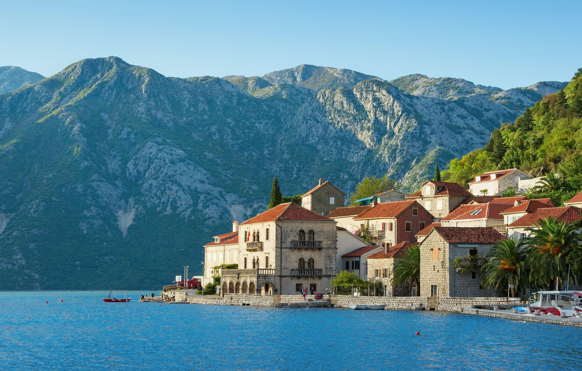 Perast is a town on the Bay of Kotor just north of the Old City of Kotor in Montenegro.