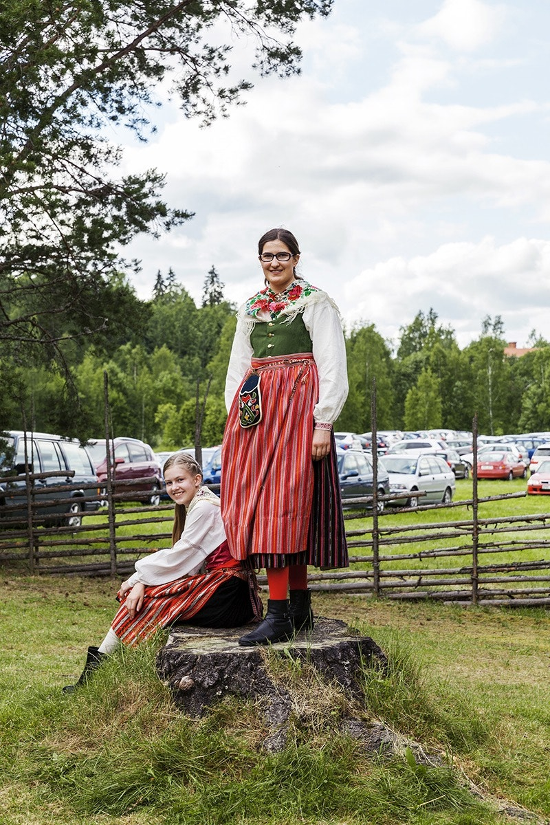 Swedish families usually make their ways to countryside summerhouses for Midsommar. The day often receives more fanfare than Christmas.