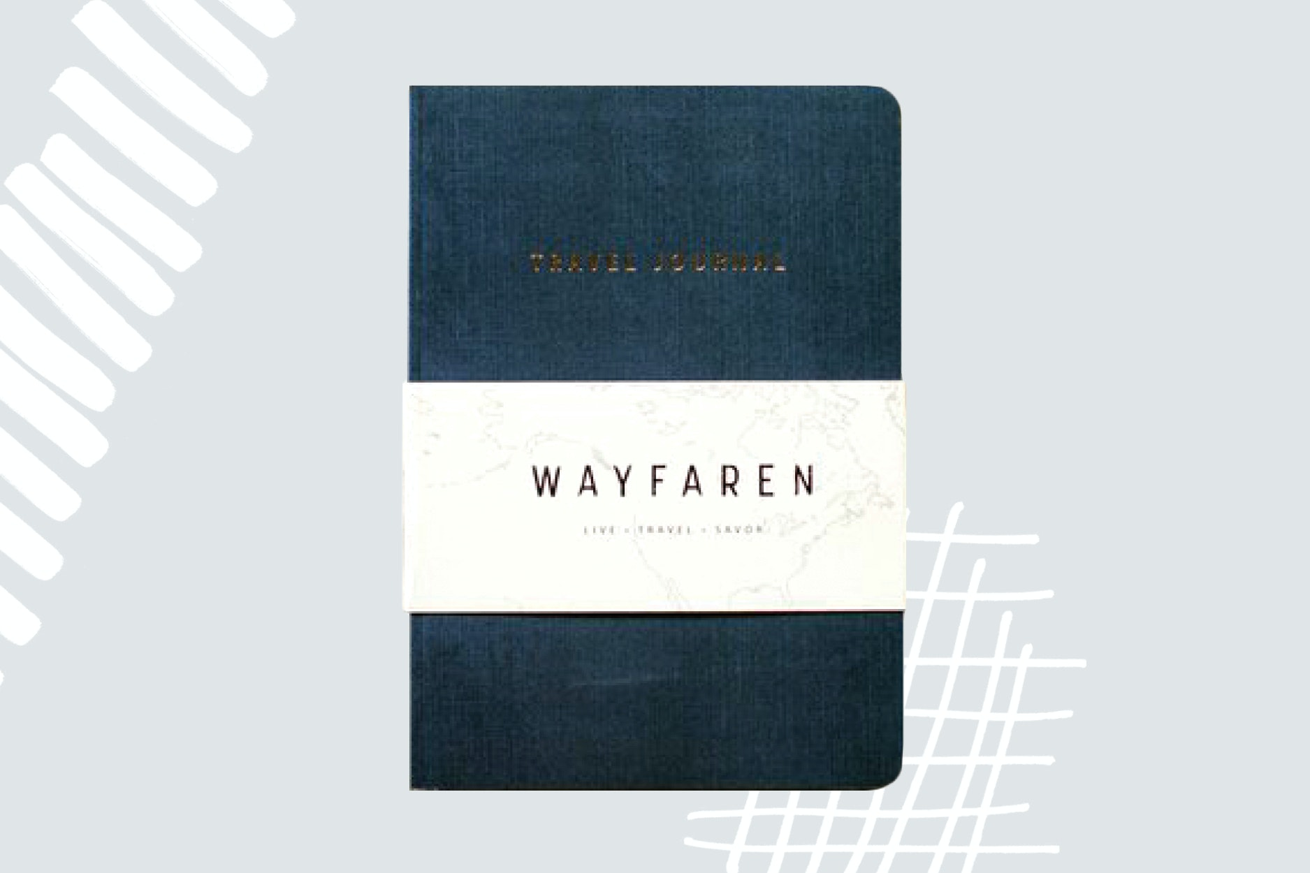 Record the memories from every trip in a simple notebook.