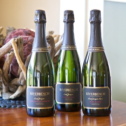 Champagne-style wines at Riverbench