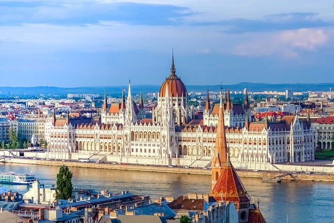 Matild Palace will be located near many sites, like the Hungarian Parliament Building pictured here.
