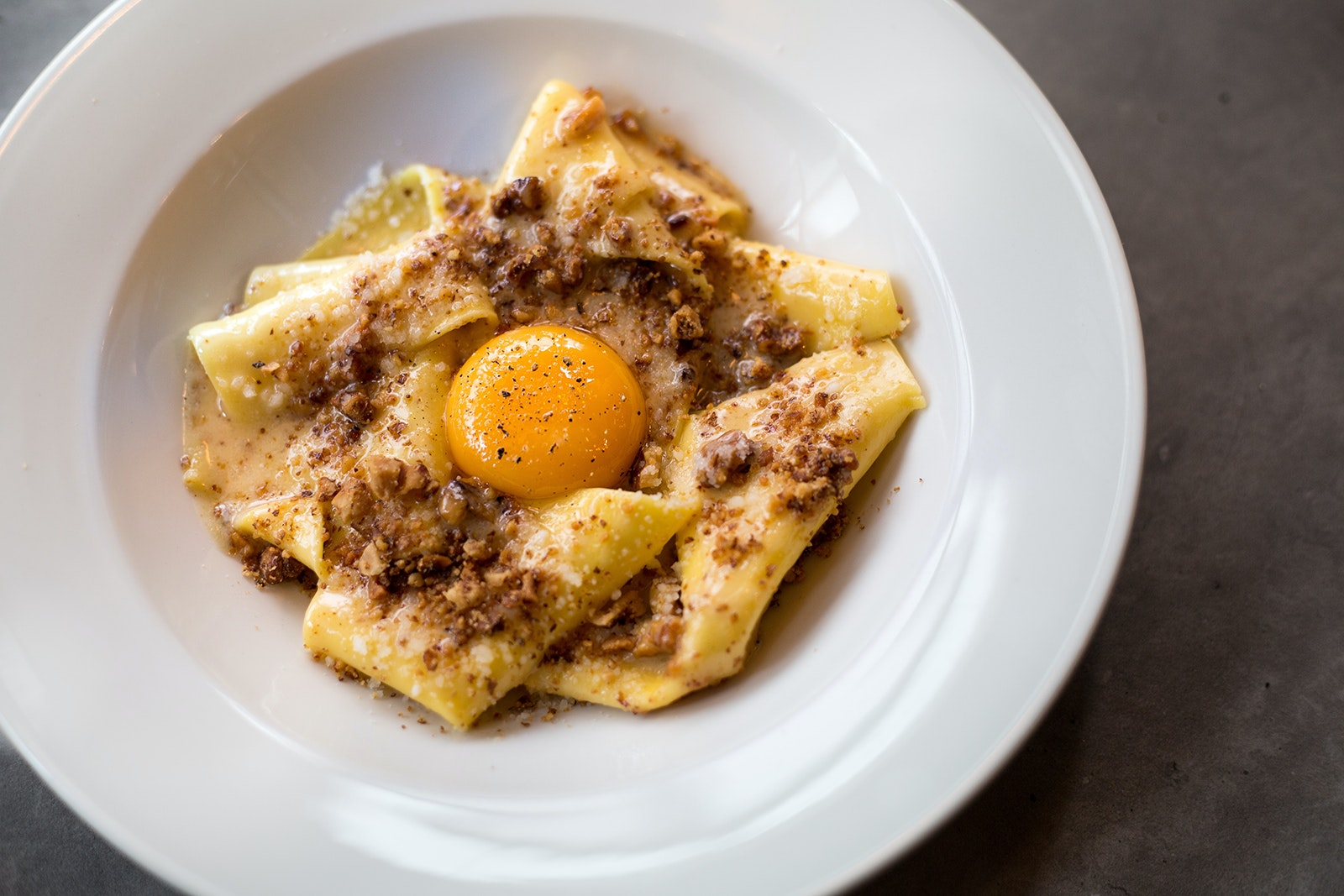 Pasta is the star of the menu at the West End's Bancone.