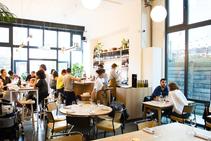 Those in search of the city's hottest restaurants should include a visit to Hackney's Bright.