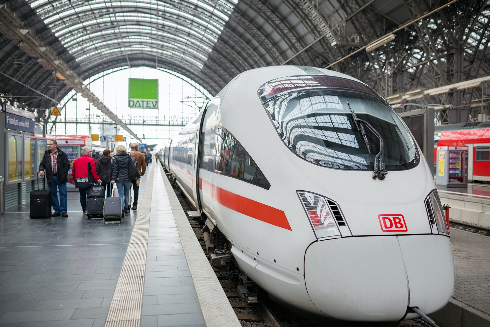 Fares on the German ICE high-speed train are included in the Eurail Pass.