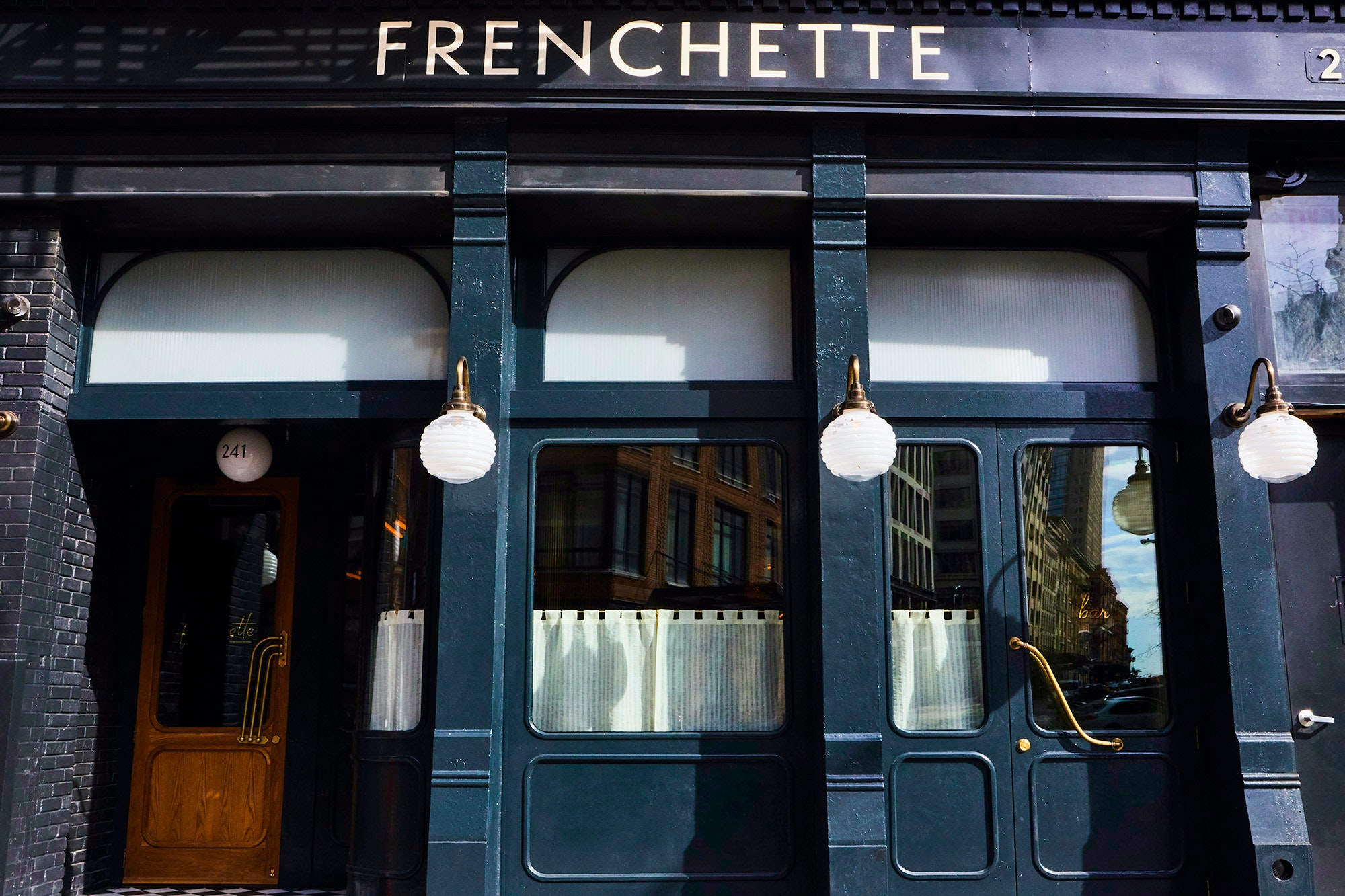 Book ahead if you want to get into Frenchette.