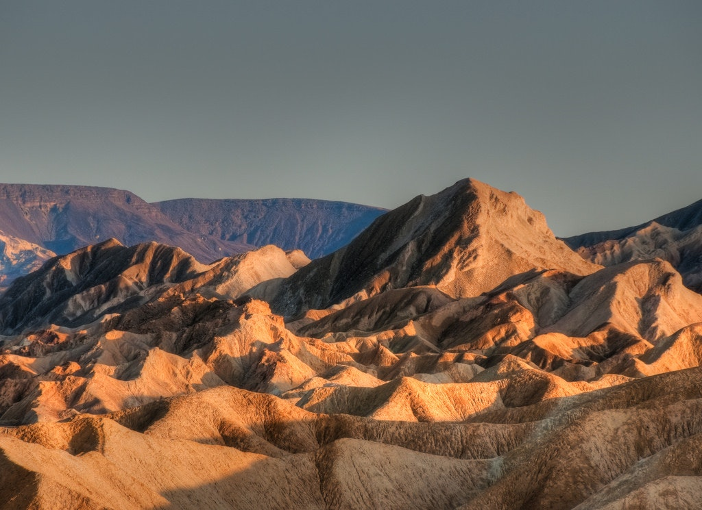 Death Valley in California.