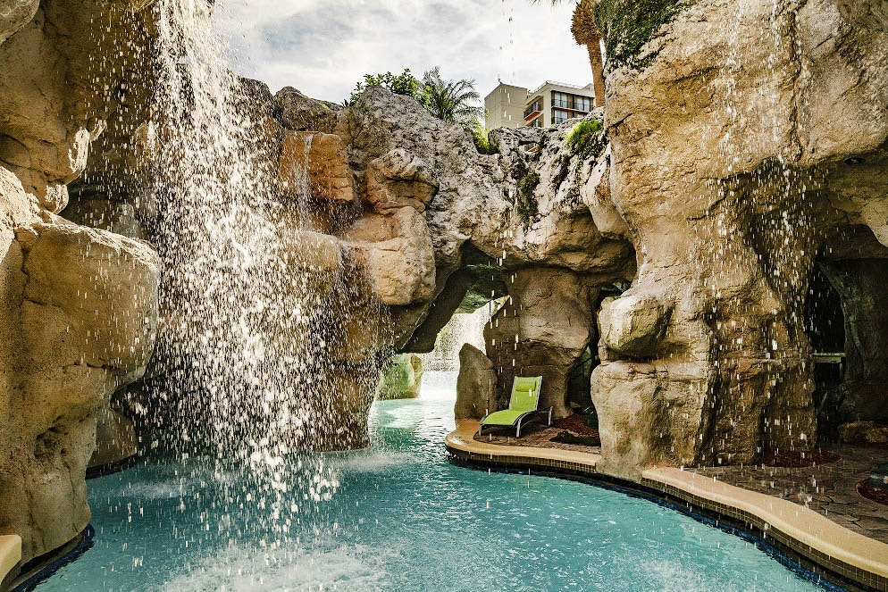 Pools, grottoes, and waterfalls keep Grand Cypress guests cool in Florida's heat.