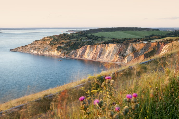 With coastal views like this, it's easy to see why Queen Victoria often visited the Isle of Wight.