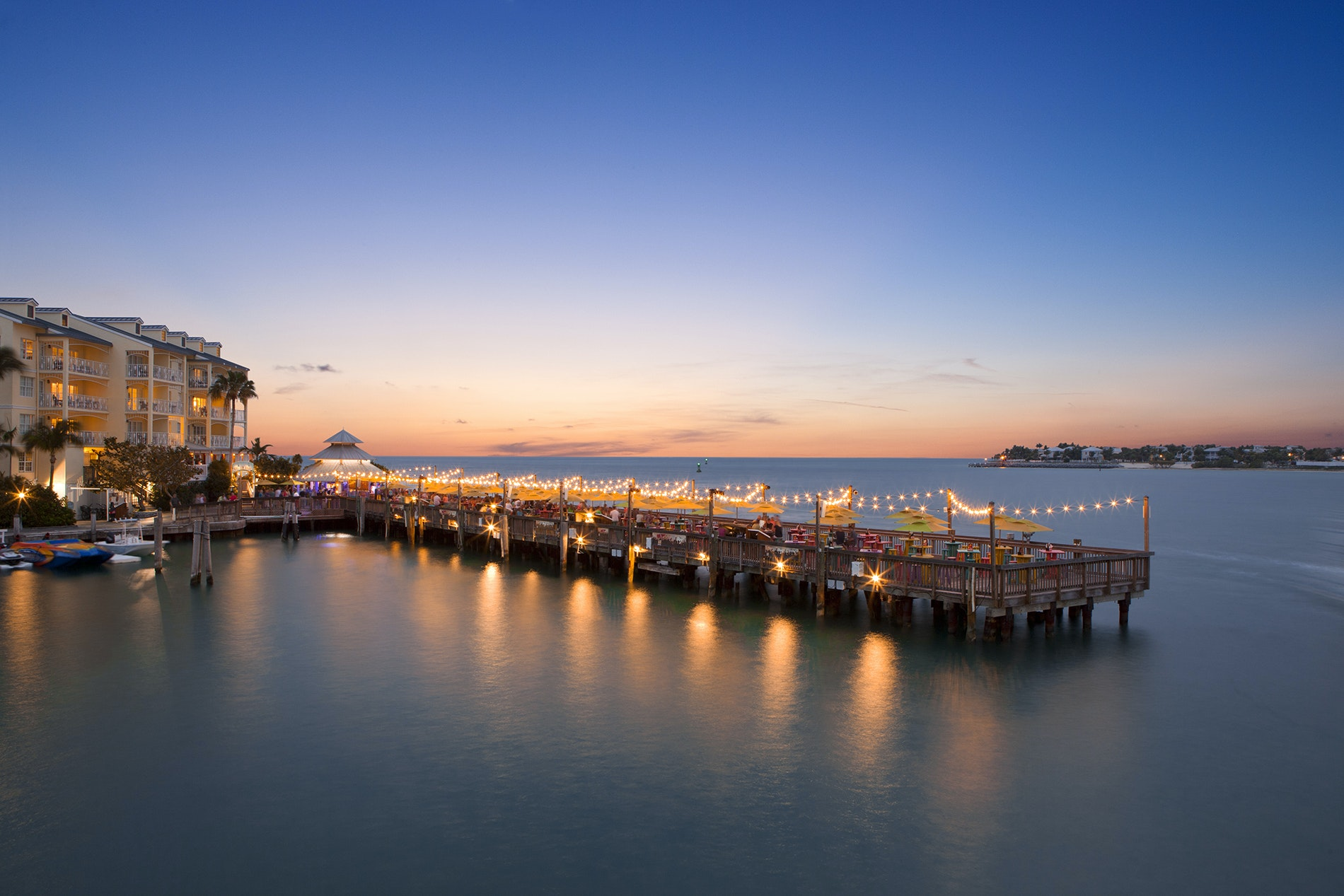 Ocean Key Resort is the place to be for Key West's sunset celebrations.