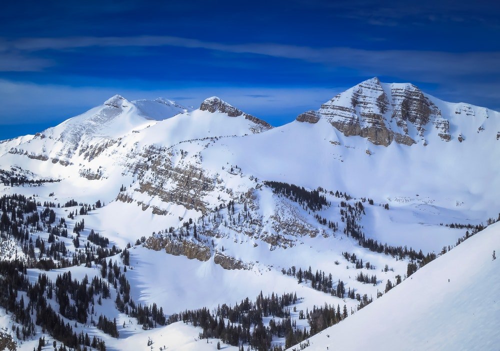 Jackson Hole, Wyoming, is known for its many feet of fresh powder.