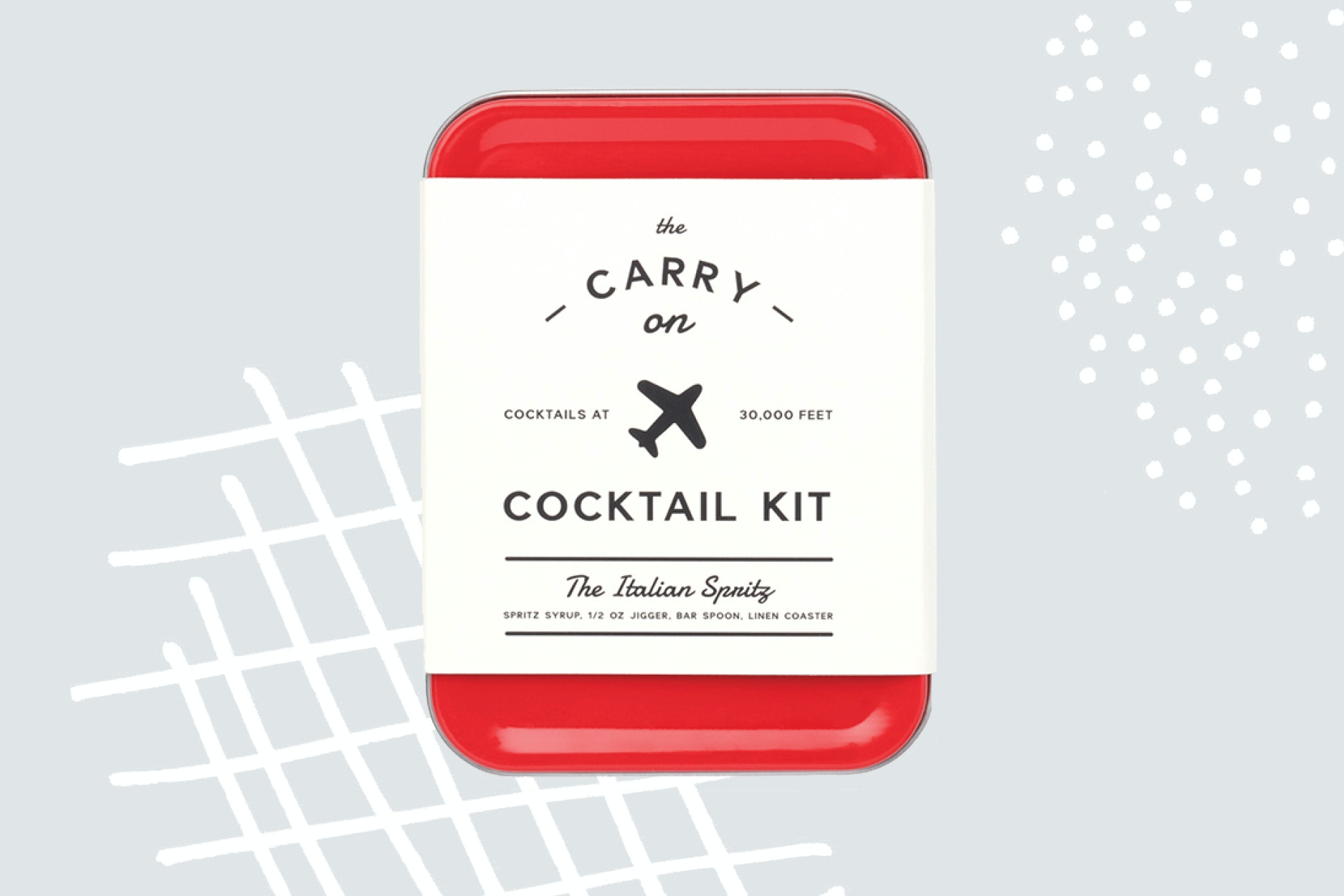 W&P Design adds Italian spritz to its lengthy carryon cocktail repertoire.