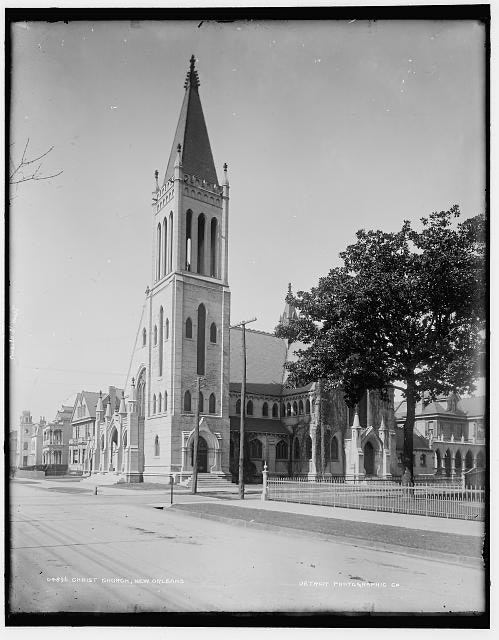 Christ Church Cathedral, 1890