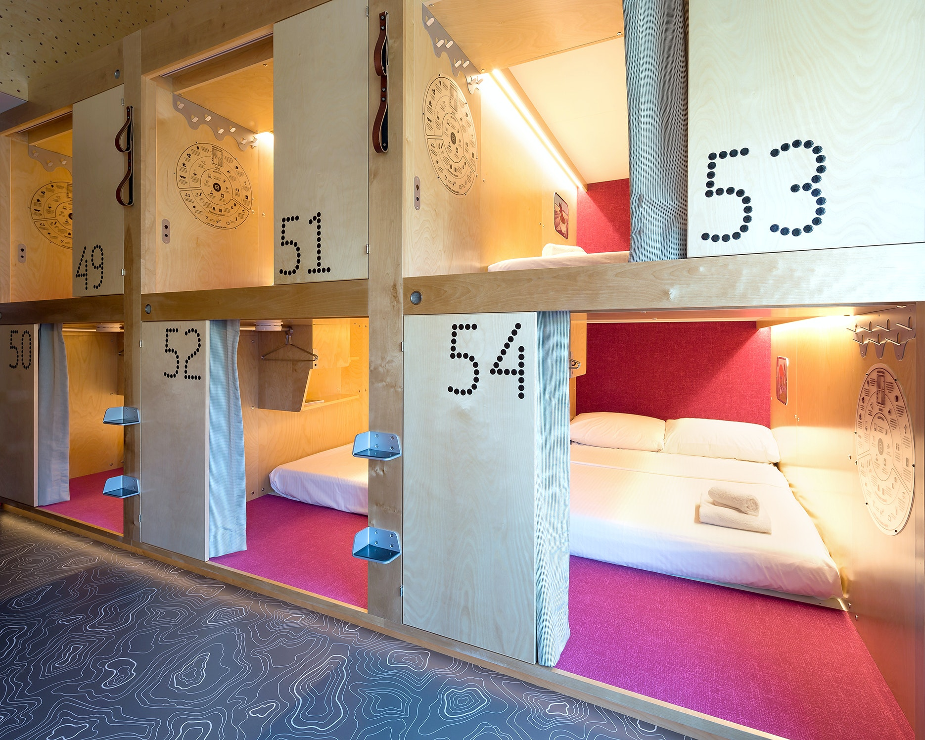 Pangea is a micro-hotel in Whistler, British Columbia.