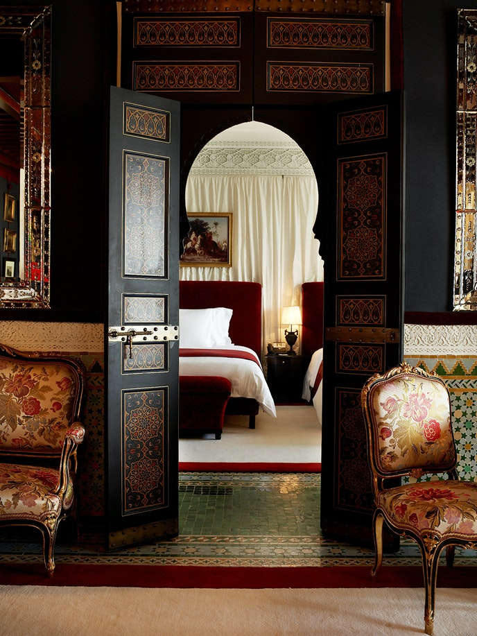 Celebs past and present have been staying at La Mamounia since its opening in 1925.