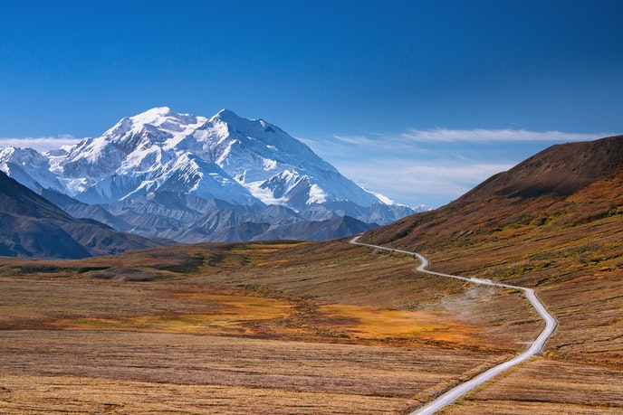 Only open to private vehicles four days each year, Denali Park Road is one of the most epic road trips.