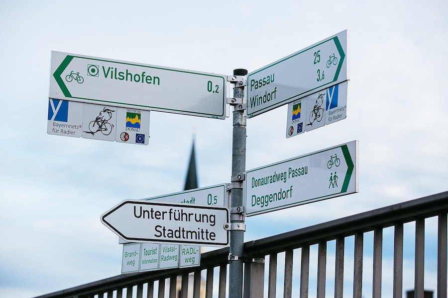 Paris may be for lovers, but Vilshofen, Germany, is definitely for cyclists.