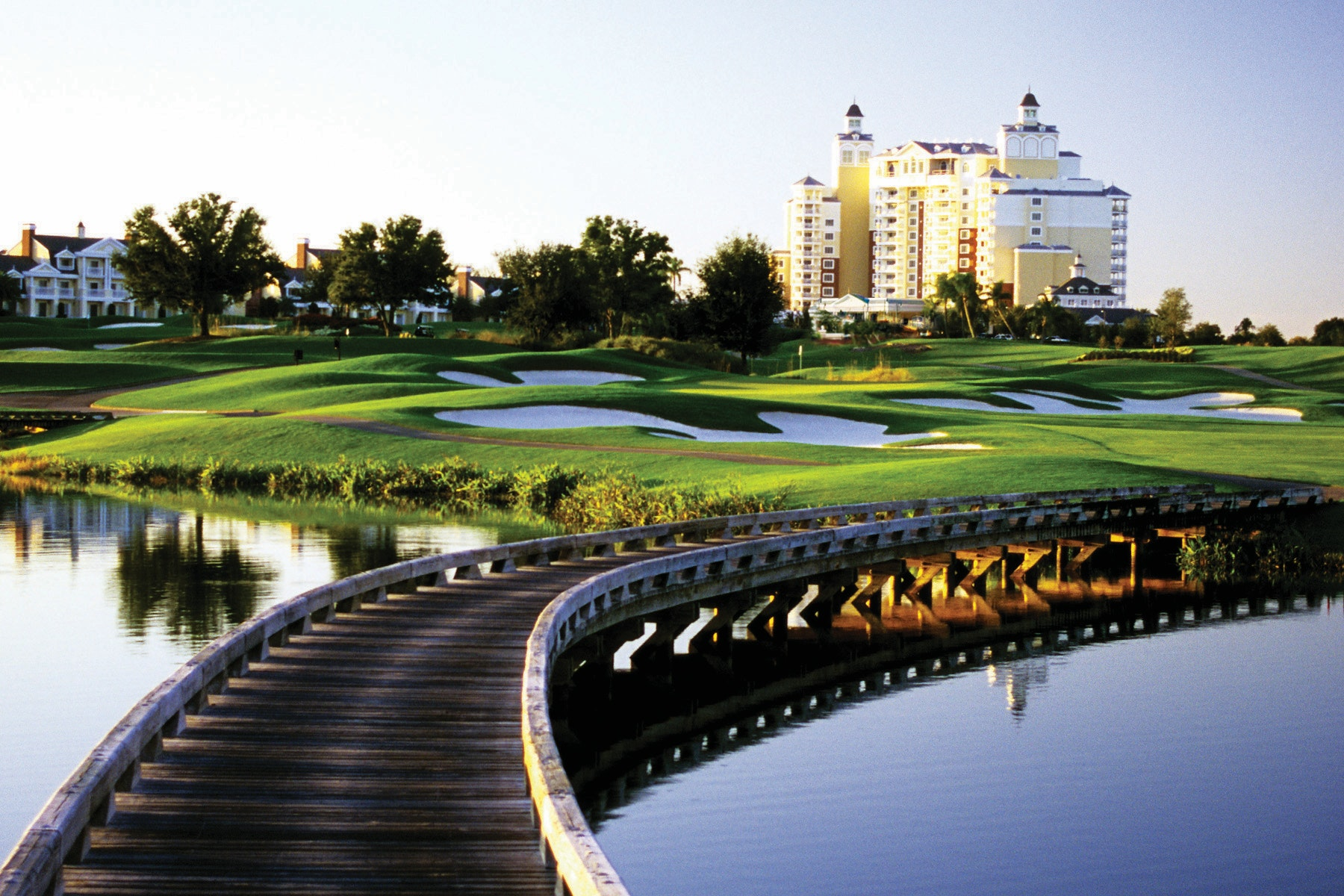Eleven pools, three golf courses, tennis courts, a kids' club: it's hard to get bored at Reunion.
