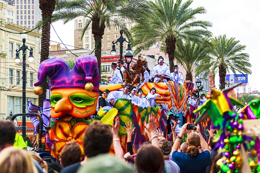 After establishing the city of New Orleans in the early 18th century, the French integrated Mardi Gras celebrations by the 1730s.