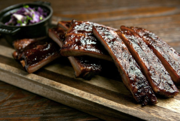 Ribs from Swine, a restaurant participating in Coral Gables Restaurant Week.