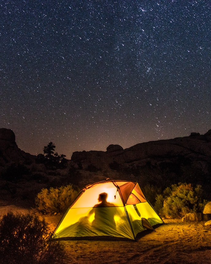 Rudya saw more stars in Joshua Tree National Park than she had seen anywhere else in the world.
