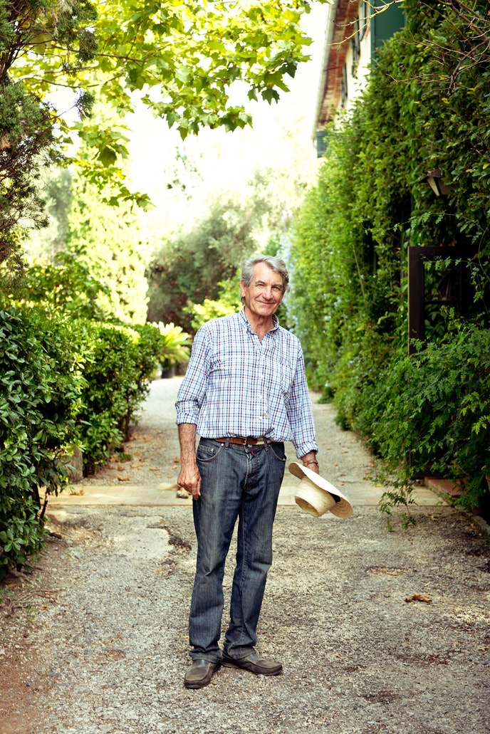 On his flower farm near town, Constant Vial is one of the last remaining growers of jasmine.