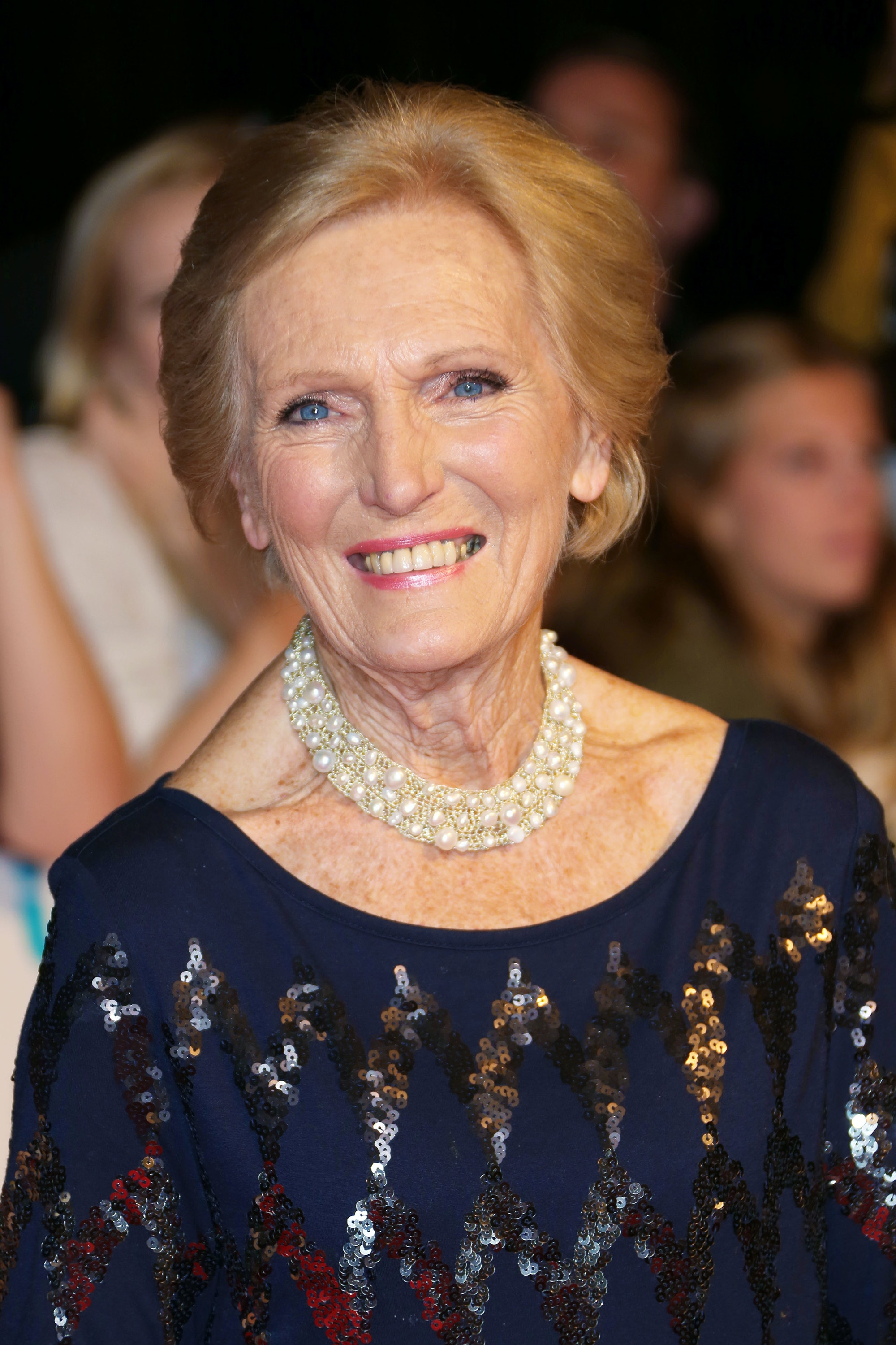Mary Berry, seen here at The Pride of Britain Awards 2013, will join guests on the Belmond British Pullman train.