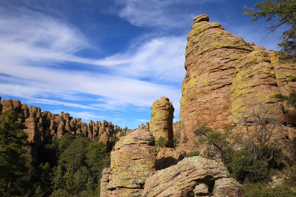 Rock formations at Chiricahua National Monument