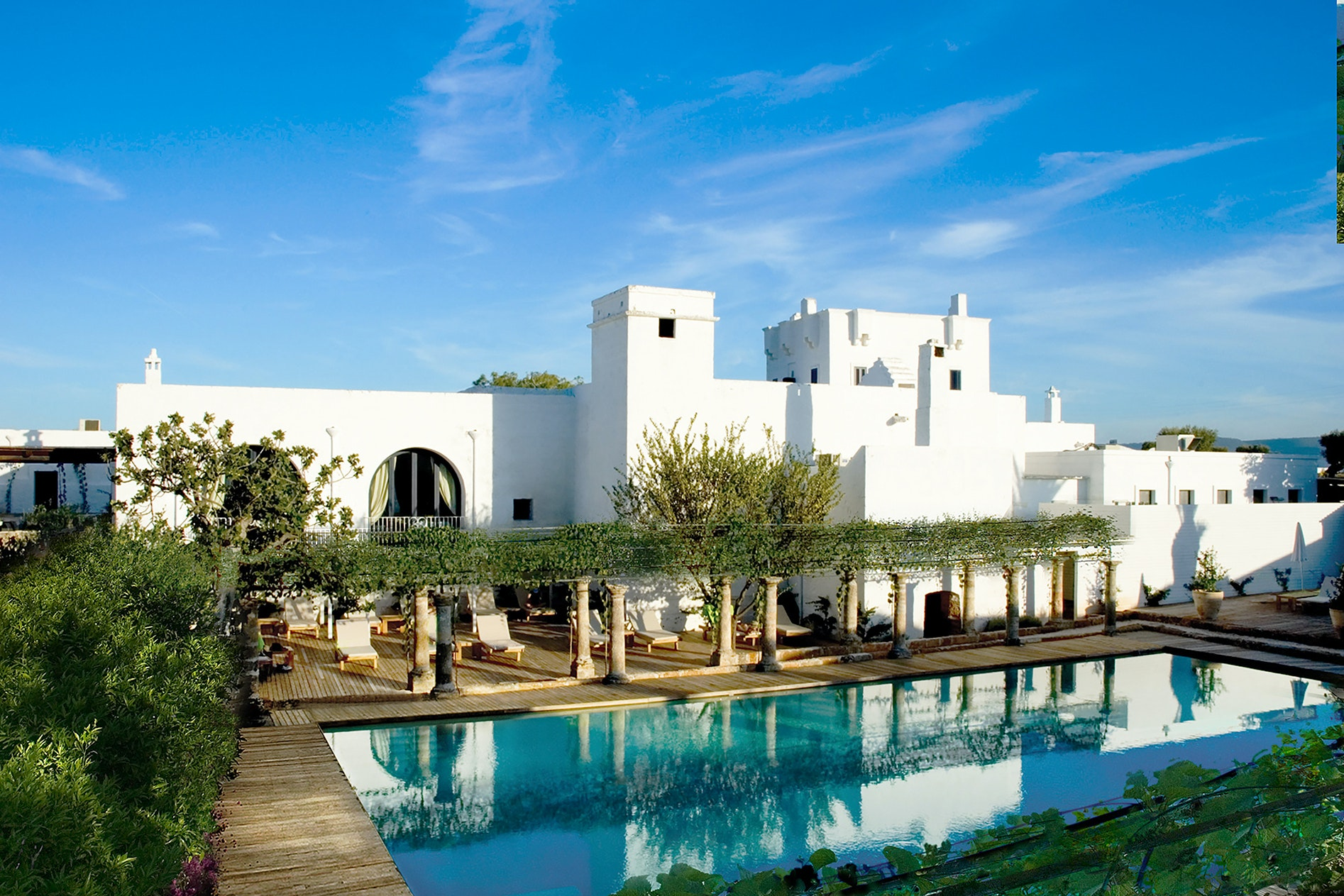 Next spring, Rocco Forte is opening Masseria Torre Maizza in a restored olive mill.