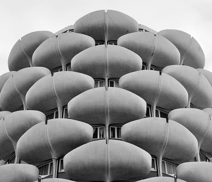 The Choux de Créteil residential complex is perhaps the most recognizable symbol of 1970s Parisian brutalism.