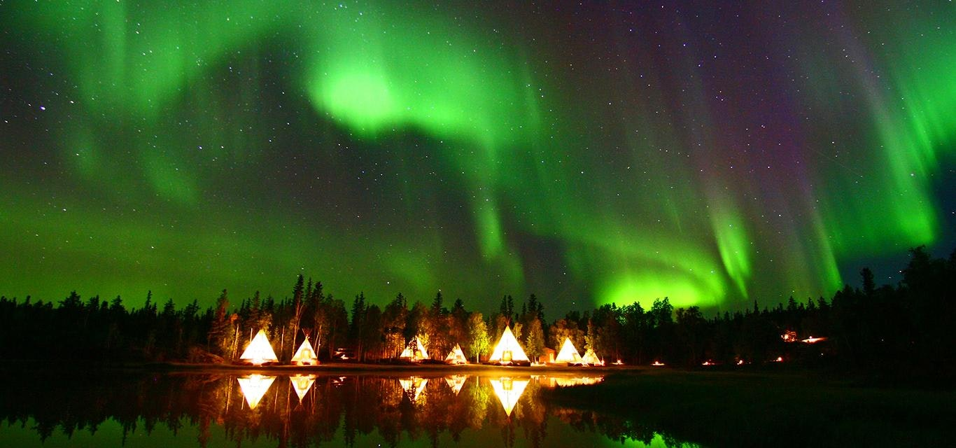 The Northern Lights Shine Brighter in the Northwest Territories