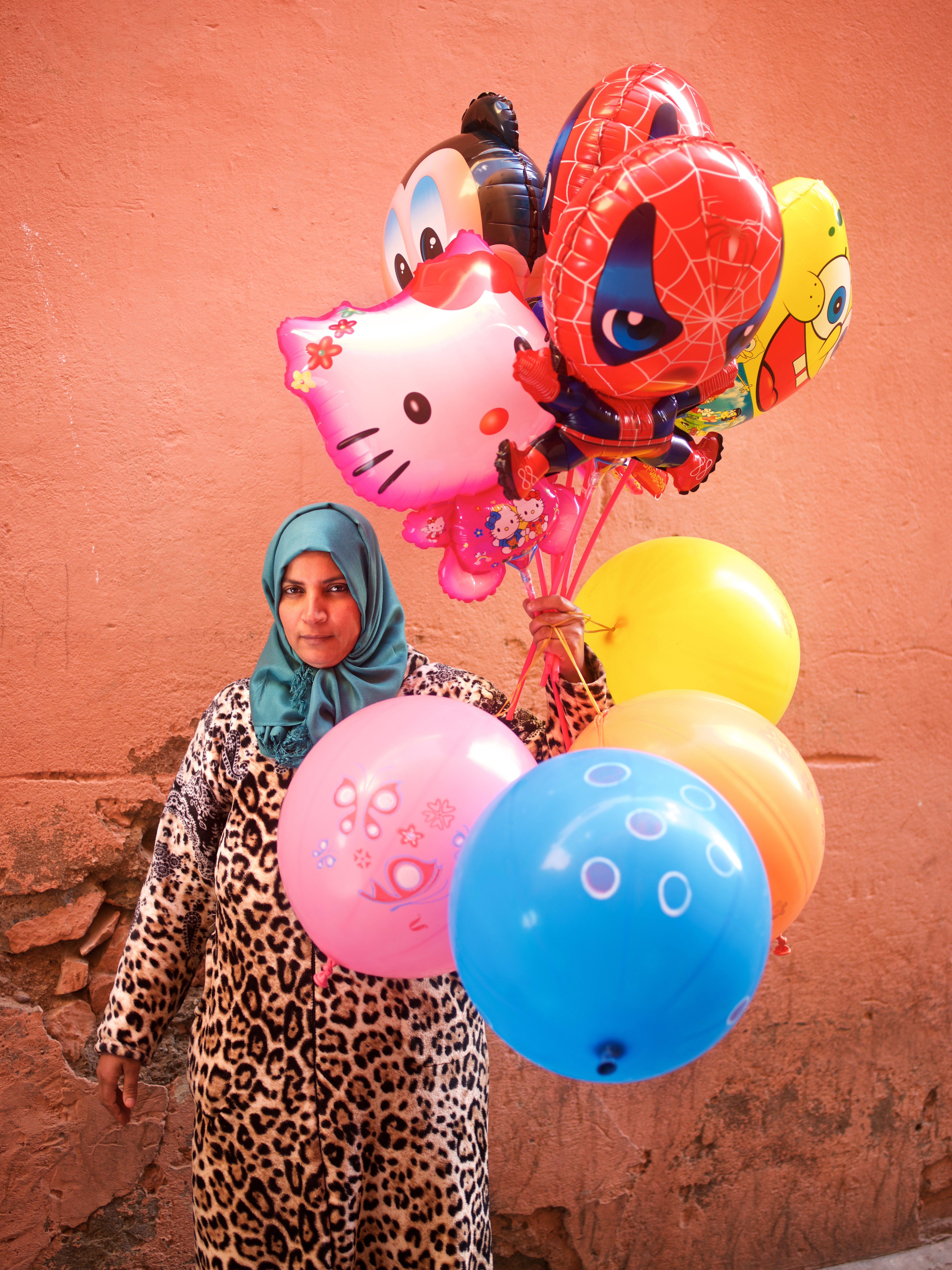 Touria Moutalib, Balloon Seller