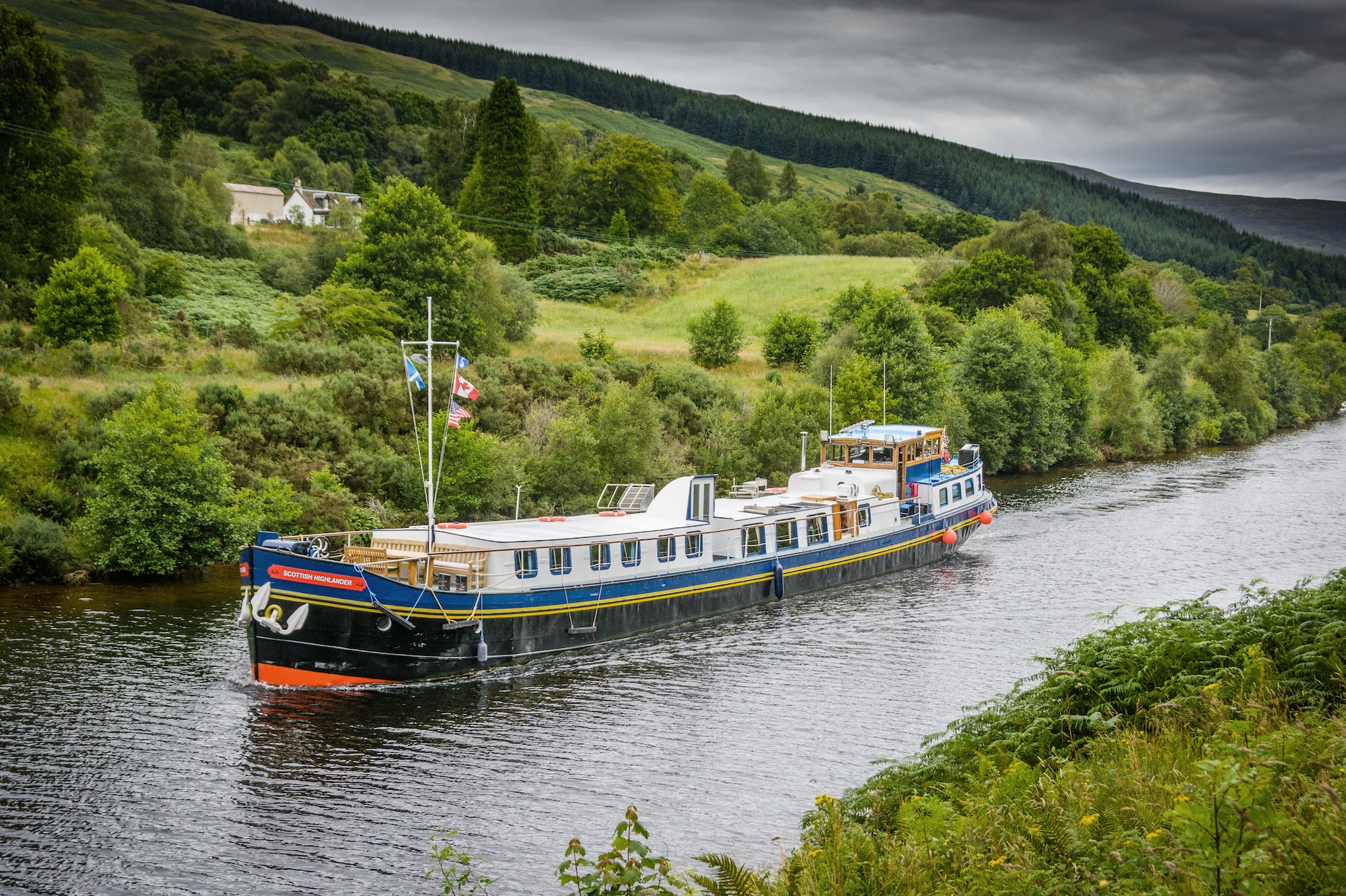 While a relatively unknown cruising destination now, the Caledonian Canal in Scotland is fast gaining popularity.