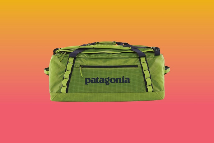 Patagonia's Black Hole Duffel is available in a variety of colors, including green, blue, gray, and black.