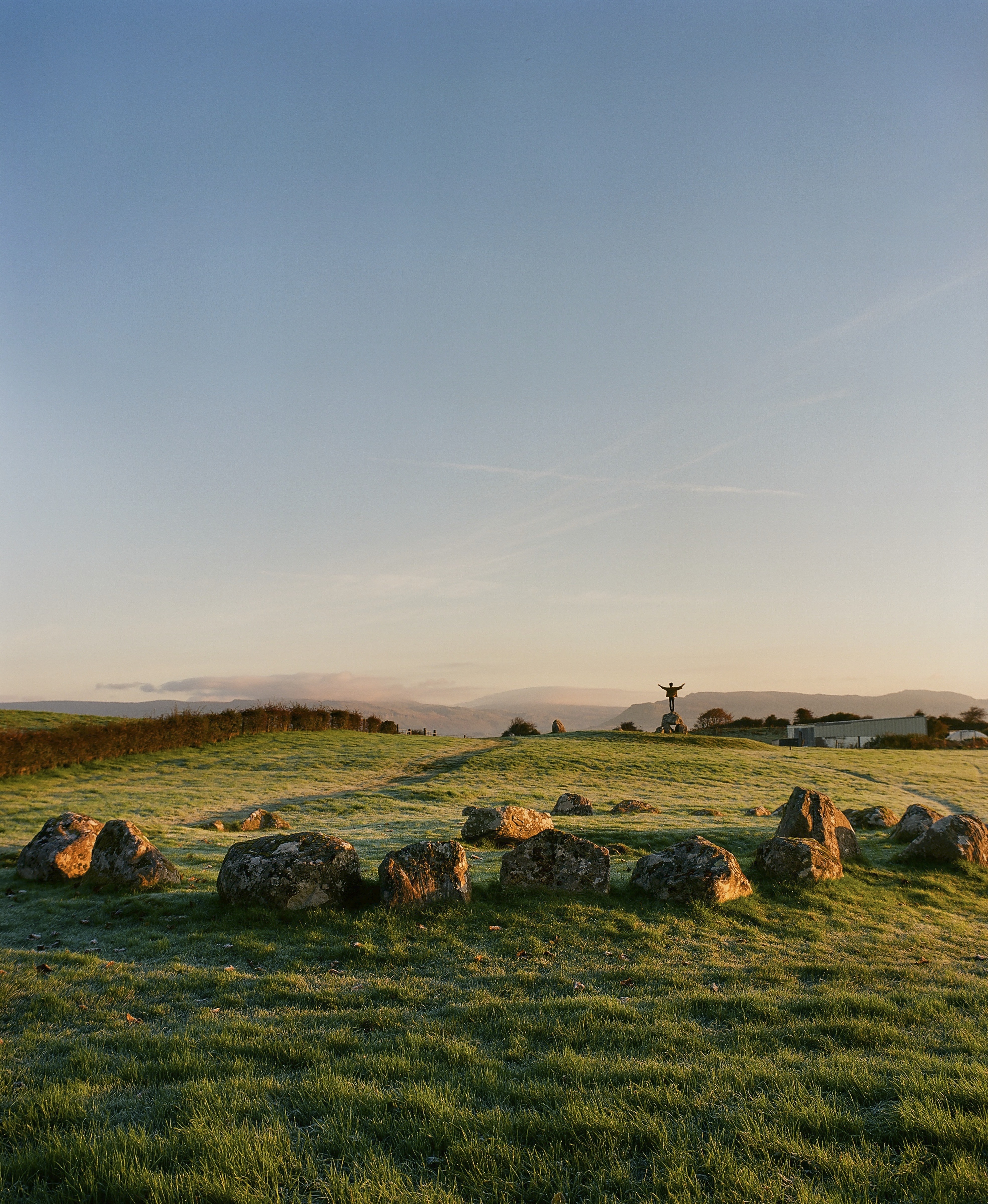 The Carrowmore Megalithic Cemetery is one of four passage tomb sites in Ireland. It dates back to 3700 B.C.