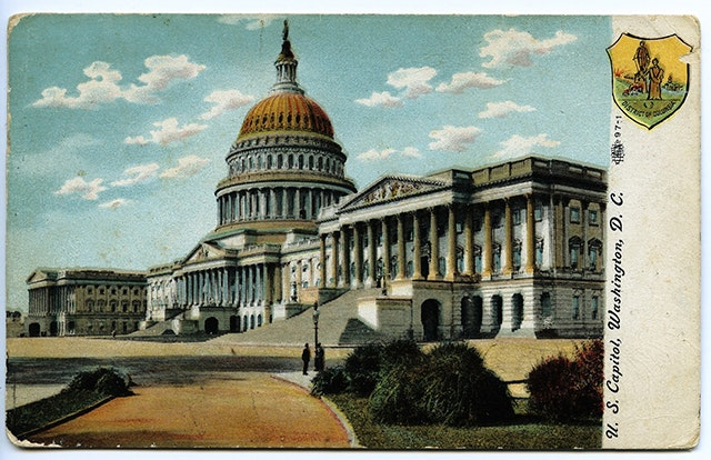 The Capitol Building, 1909