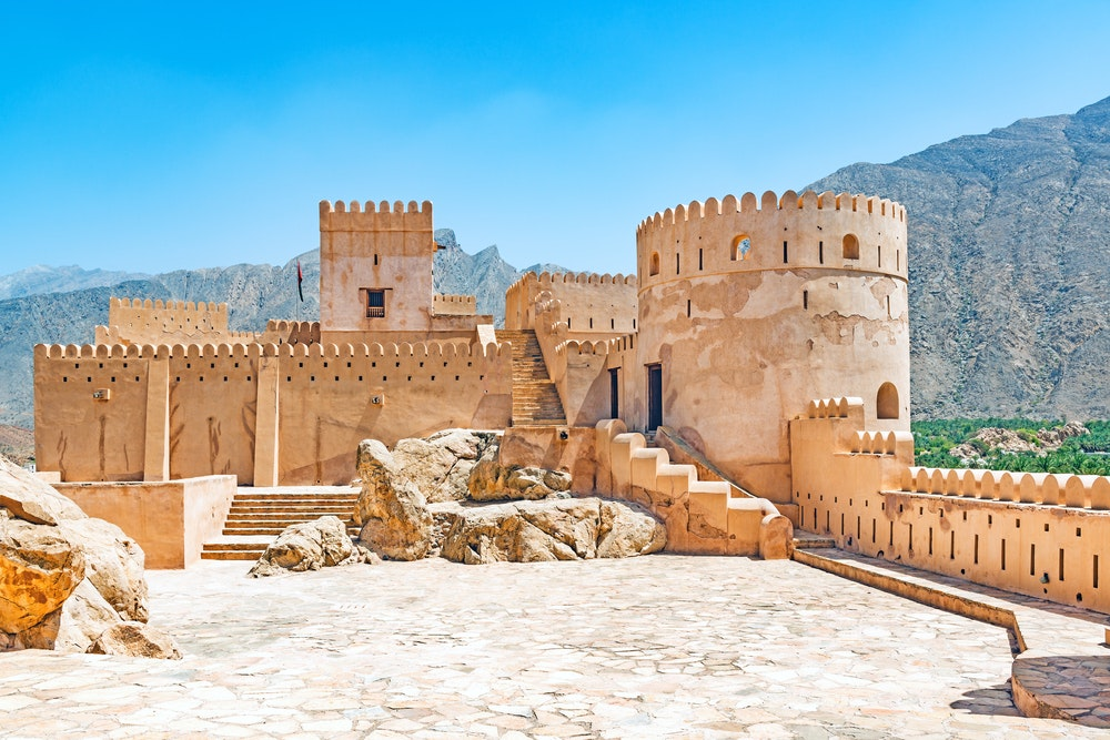 Nakhal Fort Al Batinah is west of Oman.