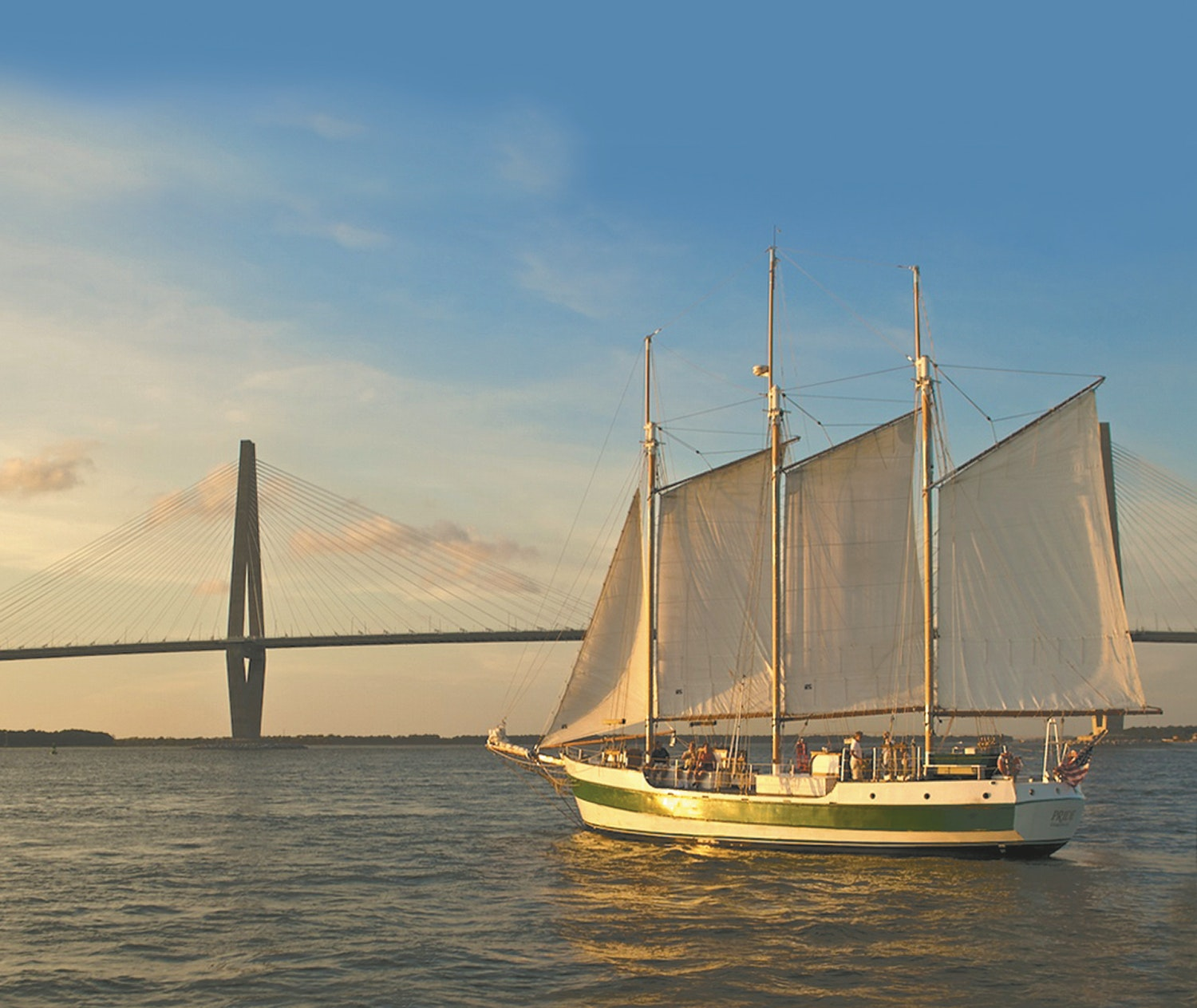 Getting some distance from land can get you a closer understanding of how Charleston was settled.