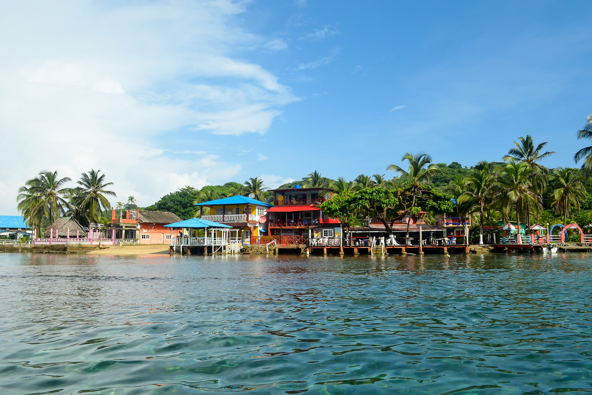 Move to Isla Colon in Panama for great seafood and living on the water.