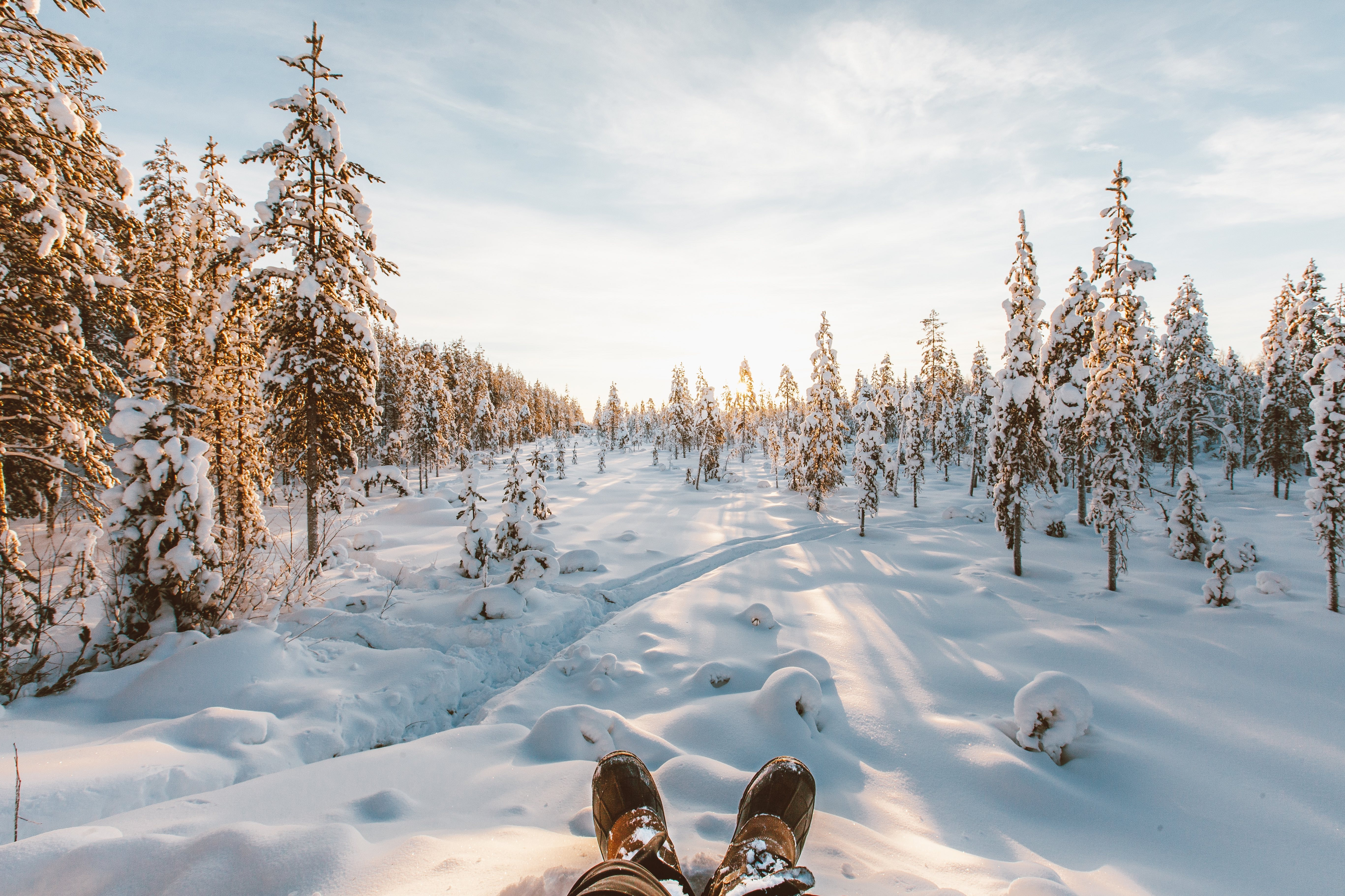 This killer view needs a pair of killer boots to keep your feet warm.