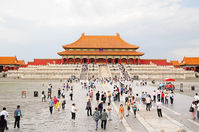The Forbidden City, also called the Palace Museum, was designated a UNESCO World Heritage site in 1987.
