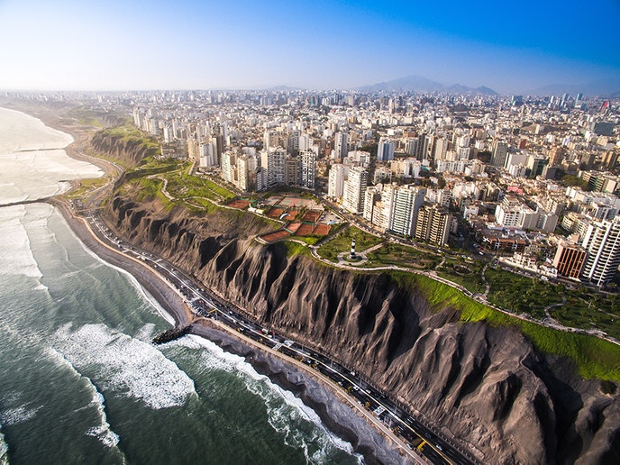 At just over 1,000 square miles, Lima provides a multitude of international cuisines and dining experiences.