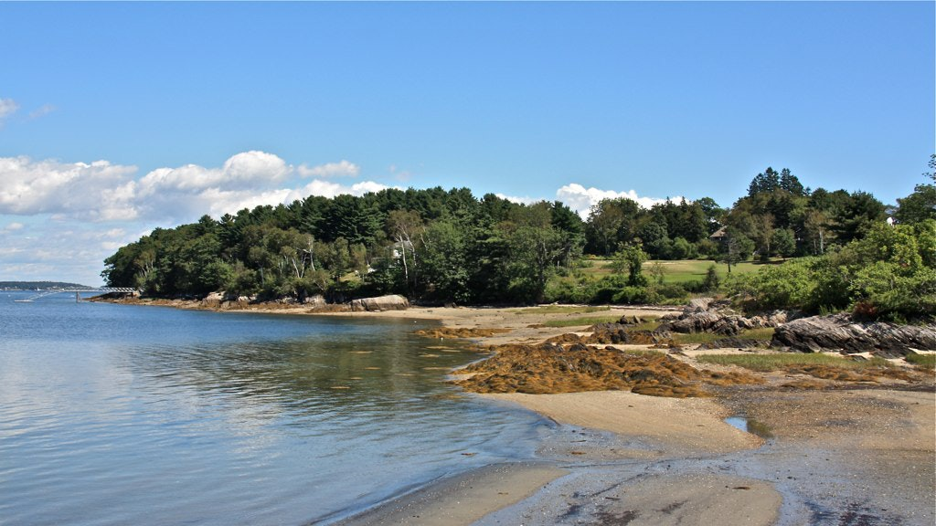 Spend the day beachcombing on Chebeague Island.