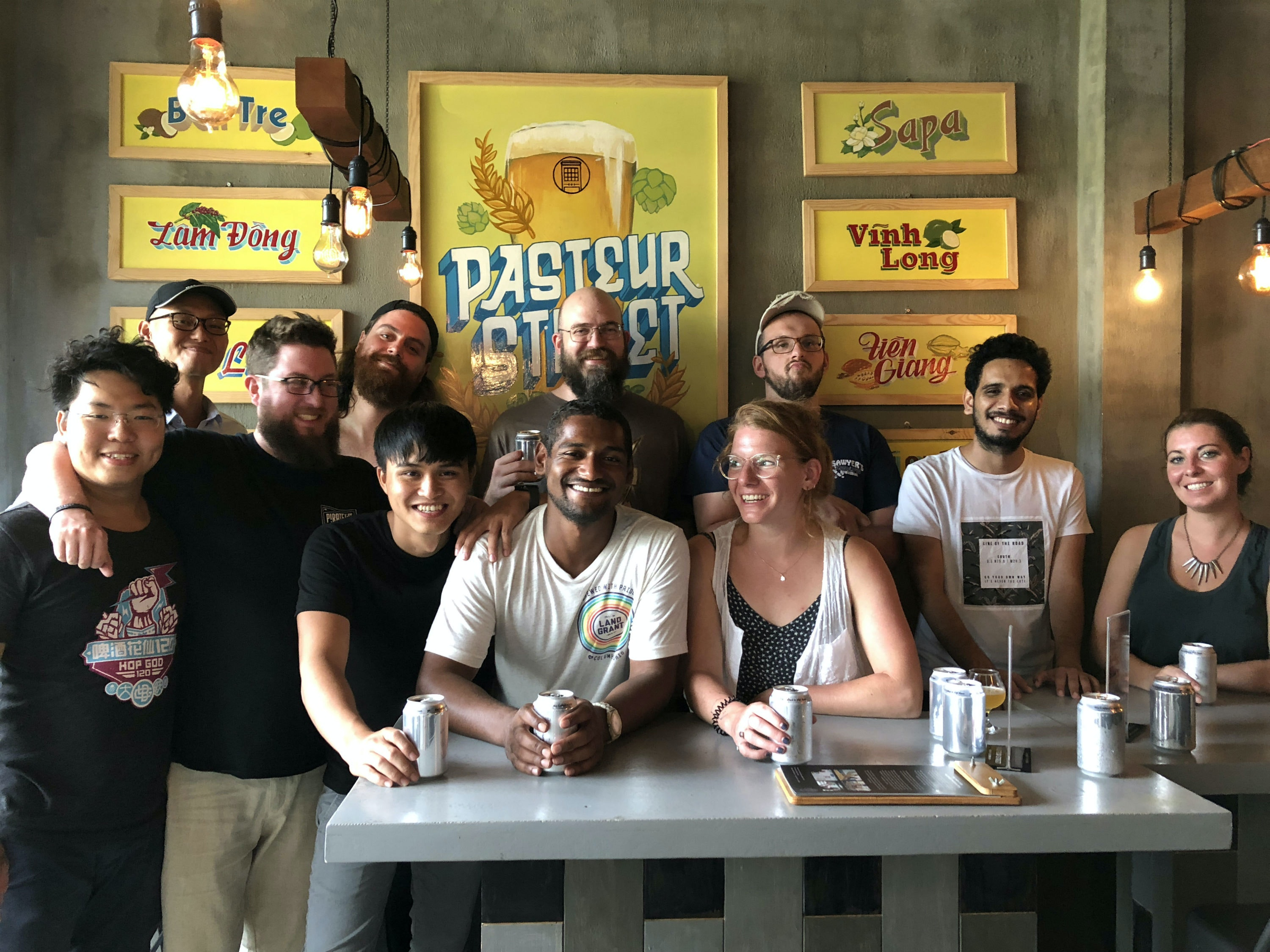 The team at Pasteur Street Brewing Company love discovering new flavors.